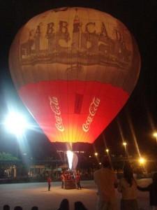 Balão da Coca Cola